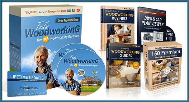 Ted's Woodworking Plans Review